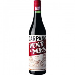 Vermouth.Carpano Punt e mes, 0.7L. 17º