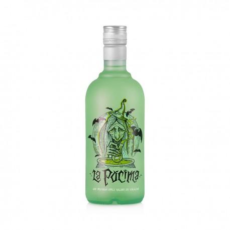 Gin La Pocima Appel, con luz 0.7L. 37,5º