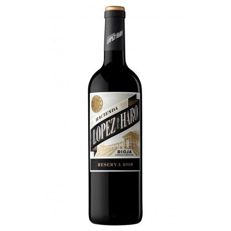 Vino Rioja Hacienda López de Haro reserva 2009, 0.75l. 13.5º