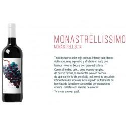 Vino Jumilla Monastrellisimo 2015, 0.75L. 14,5º
